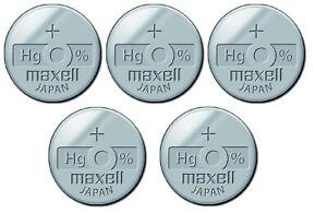1 x Maxell 377 Uhren Batterie Knopfzelle SR626SW SR626 AG4 Silberoxid Neu