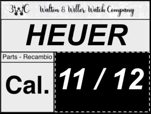 1 pc HEUER 11//12 original parts vintage GENUINE manual movement New NOS 3WC