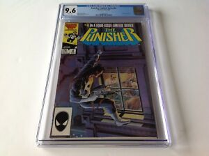 PUNISHER LIMITED SERIES 4 CGC 9.6 WHITE PAGES JIGSAW GRANT ZECK MARVEL COMICS