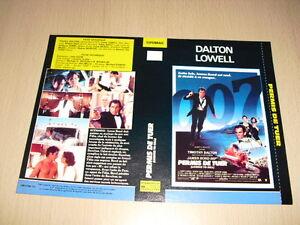JAQUETTE-VHS-Permis-de-tuer-Licence-to-Kill-James-Bond-Timothy-Dalton