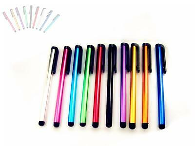 DIAU 10x Metal Universal Stylus Touch Pens For Android Ipad Tablet Iphone PC Pen