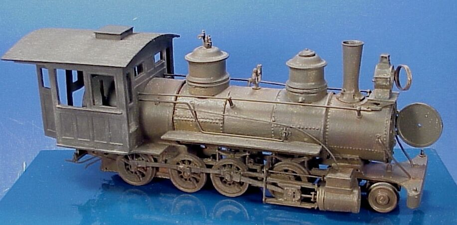 On3 On30 WISEMAN MODEL SERVICES  RIPC16 DERELICT C-16 2-8-0 STATIC KIT