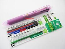 Pilot Frixion Ball 4 05mm Multi Color Erasable Rollerball Pen 4 Refills Pink