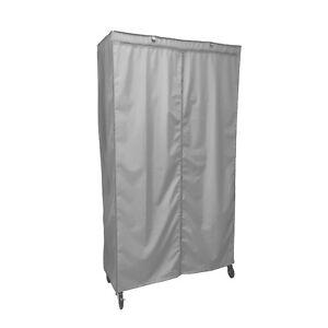 Terrific Details About Cover For Wire Shelving Storage Rack Unit Size 36Wx18Dx72H Grey Download Free Architecture Designs Embacsunscenecom