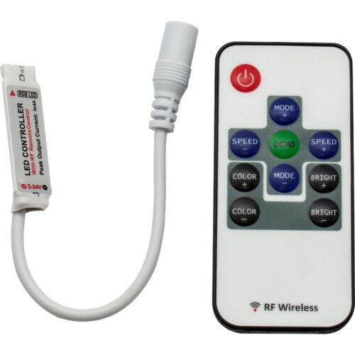 RF Controller 12A für RGB LED Streifen Plug´n Play 5V 12V 24V