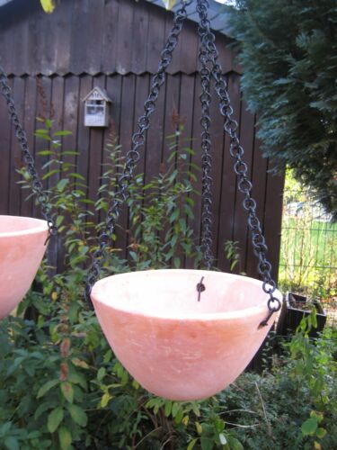 Blumenampel Pflanz-Ampel Hängeampel Blumenampel Terracotta 26 20 cm Durchmesser