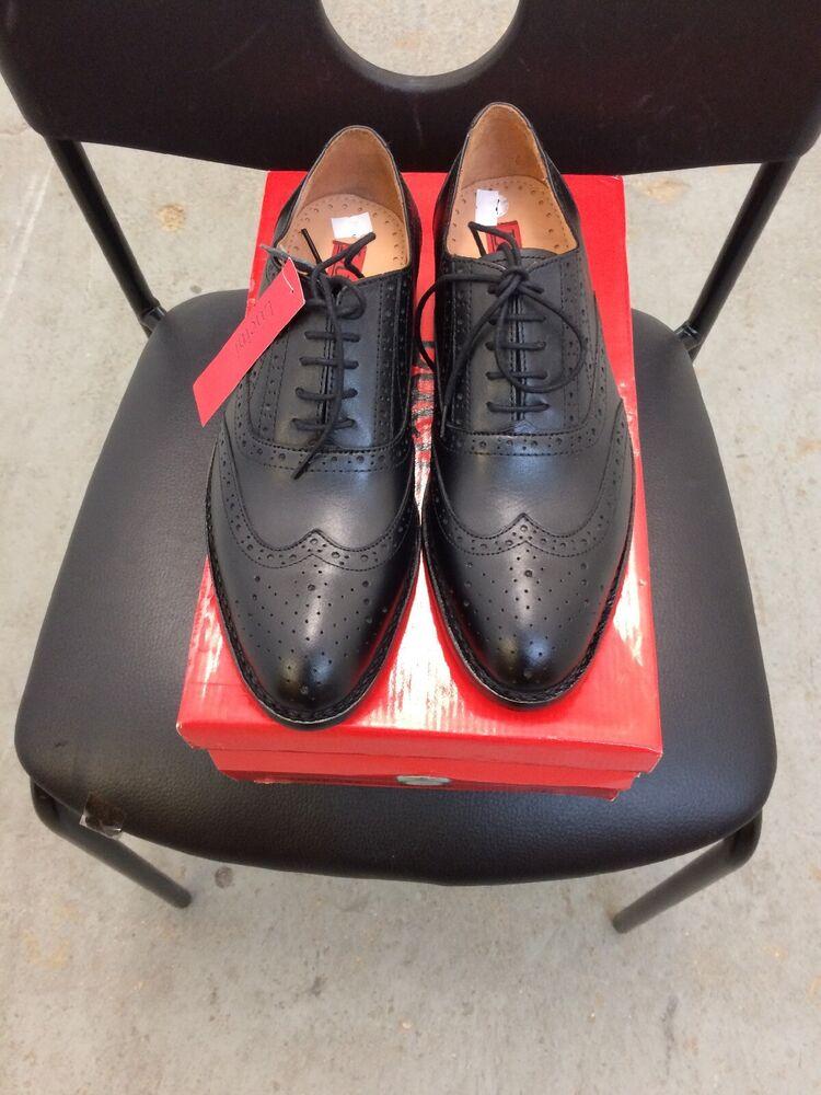 à Condition De Lucini Homme En Cuir Richelieu à Chaussures Taille 11. 12578-104 DernièRe Mode