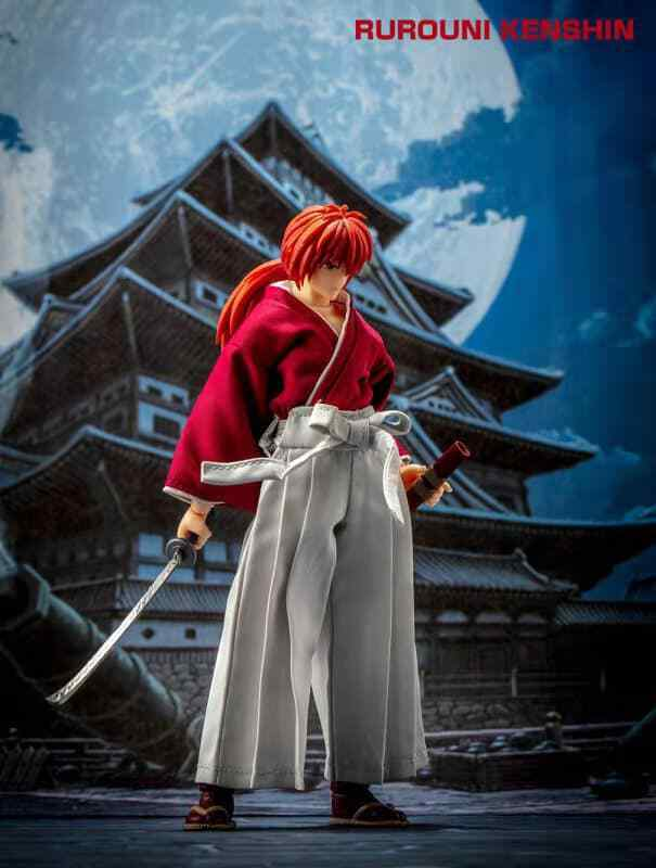 Rurouni Kenshin - HIMURA KENSHIN figurine, Dasin, Anime SHF figure 18 cm.