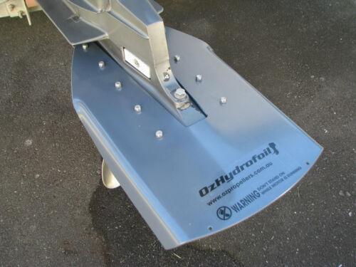 For Evinrude Etec 40-50-60-75hp Aluminium Oz Hydrofoil Plate White or black