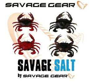 Savage-Gear-Saltwater-3D-Manic-Crab-Lures-Cod-Sea-Fishing-Tackle-Bass-Labre-LRF