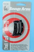 Savage 5 Rd Round Magazine 22 Lr 17 Mach 2 Genuine Clip Mag Mark Ii 501 90005