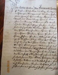 Deutschland-grosses-8-Seiten-Dokument-Heinrich-Herzog-von-Juelich-usw