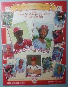 Image Is Loading LE Promotion Photo 1982 St Louis Cardinals Salute