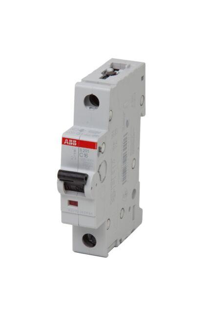 Leitungsschutzschalter ABB S201 B oder C polig LS 1 Schalter