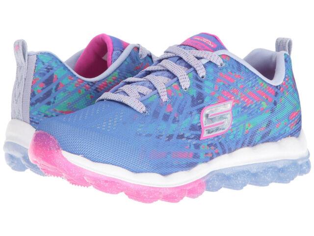 de0ea6c354a8 Skechers Girl s Skech Air Jump Around Blue Multi Sneakers - Sizes 11 ...