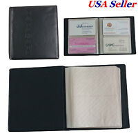 2 Pcs X 80 Cards Business Name Id Credit Card Holder Book Case Keeper Organizer