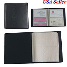 Muji pp business card case holder x 2 pcs ebay 2 pcs x 80 cards business name id credit card holder book case keeper organizer reheart Images