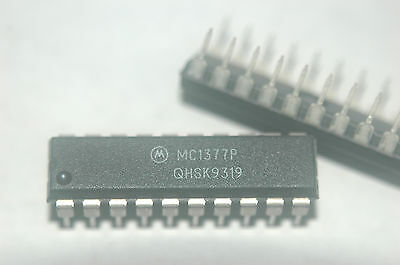 MC1377P MOTOROLA 20 PIN DIP TV ENCODER NOS QTY 2