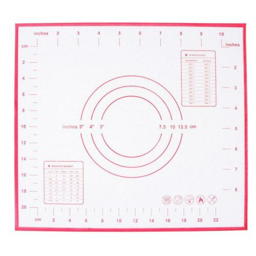 Antihaft Silikon Backmatte Nudel Teigmatte Backmatte Teigunterlage Ausrollmatte