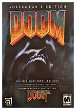 DOOM COLLECTOR'S EDITION (PC) BRAND NEW SEALED RETAIL BOX - FREE U.S. SHIPPING
