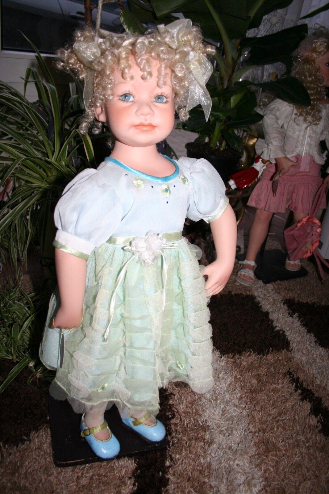 Künstler Porzellan Puppe Vicky Medit nur 250 St. Limitiert Weihnachts  Geschenk