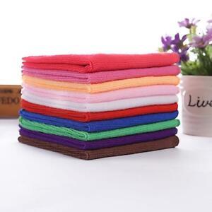 1PCS-Lot-Mischfarbe-Mikrofaser-Auto-Reinigung-Handtuch-Kueche-Waschen-Polieren