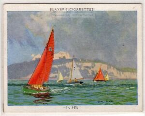 Snipe-Class-2-Person-Racing-Dinghy-Sailboat-1930s-Trade-Card