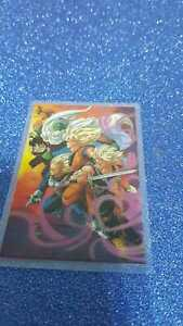 DRAGON-BALL-Z-CARDDASS-RAMI-CARDS-SIN-NOMBRE-VINTAGE-SUPERSAYAN-4
