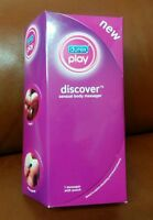 Durex Play Discover Sensual Body Massager In Box W/ Pouch.free Shipping.