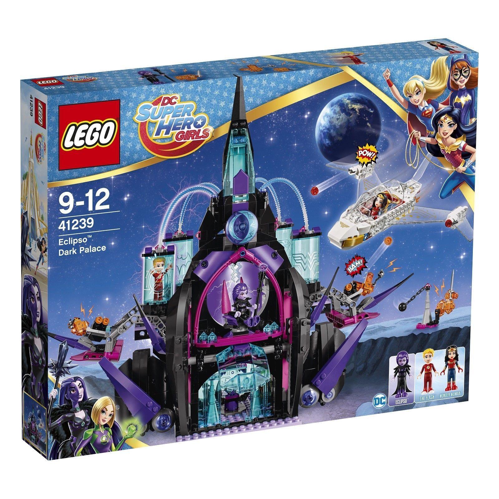 LEGO 41239 DC Universe Super Heroes ECLIPSO DARK Palace-Nuovo di zecca in pensione