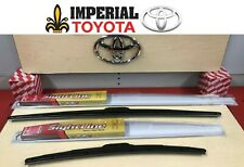 2013-2018 TOYOTA RAV4 GENUINE OEM OE STYLE SIGHTLINE WIPER BLADE KIT
