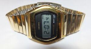 Rare-Vintage-1970-039-s-Seiko-Digital-LCD-0439-4019-Quartz-LC-Watch