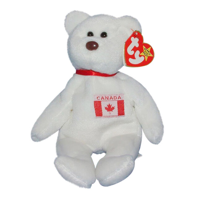 0022a5245c7 Ty Beanie Baby Maple Bear 2 Tush Tags 1 Canadian RARE High Quality ...