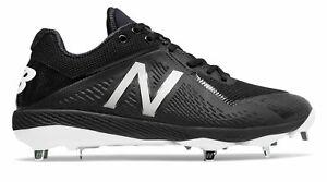 New-Balance-Low-Cut-4040V4-Metal-Baseball-Cleat-Mens-Shoes-Black