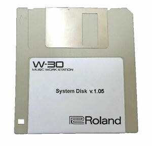 Roland W-30 Operating Start-up System Disk, Version 1.05