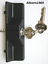 Sliding-glass-door-lock-outer-pull-handle-with-key-cylinder-amp-2-keys thumbnail 2