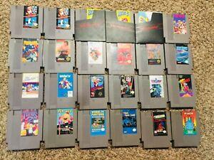 Nintendo-Entertainment-System-NES-MEGA-LOT-24-Games-CHOOSE-TESTED
