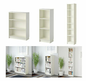 Image Is Loading Ikea Billy Bookcase White Colour Shelves Adjule Home