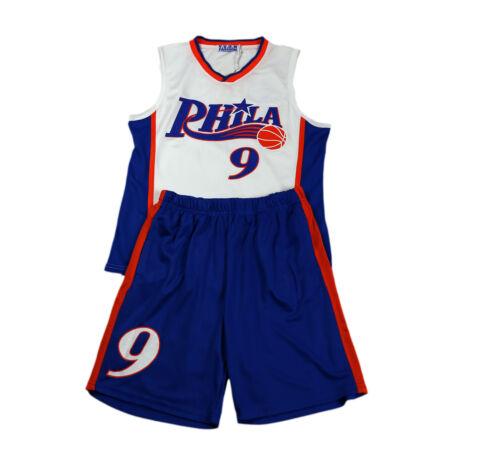 Boys basketball kids gilet baseball top /& shorts summer set kit 3-13 ans bnwt