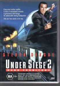 UNDER-SIEGE-2-DARK-TERRITORY-DVD-R4-2000-Steven-Seagal-LIKE-NEW-FREE-POST