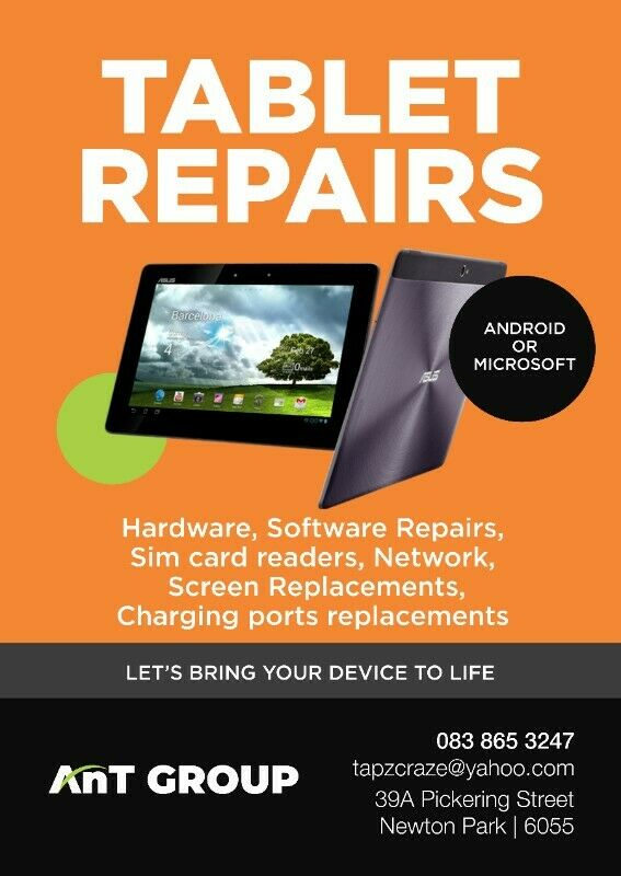 AFFORDABLE PROFESSIONAL TABLET REPAIRS