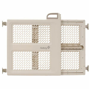 Safety 1st Lift, Lock & Swing Dual-Mode Gate, Taupe