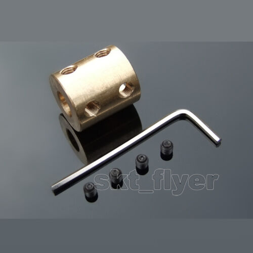 Cylindrical Rigid Couplings Copper Motor Accessories Coaxial Copper Sets