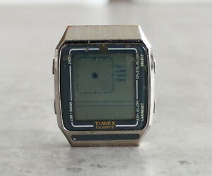 TIMEX-Q-LCA-L-CELL-Mystery-Illusion-vintage-LCD-quartz-watch-head-PARTS-SPARES