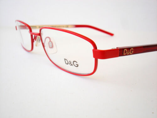 Dolce /& Gabbana Eyeglasses D/&G 4152 Red F44 Authentic 51-17-135 *CLEARANCE*