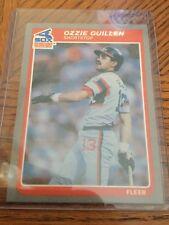 1985 Fleer Ozzie Guillen #48 Baseball Card