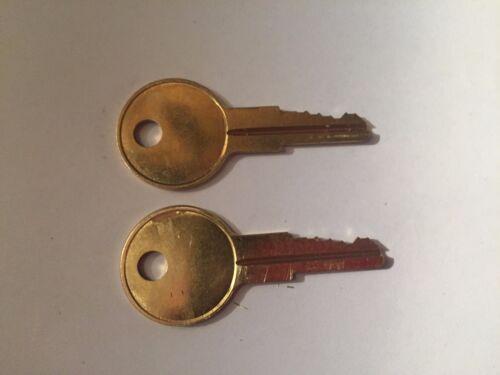 Office Furniture  Keys SL51 to SL100 Precut Key 2 Haworth File Cabinet
