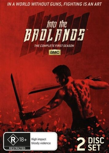 1 of 1 - INTO THE BADLANDS - THE COMPLETE 1ST SEASON - NEW DVD