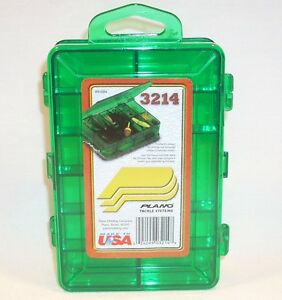 Image is loading Plano-3214-Micro-Mini-Double-Sided-Tackle-Storage- & Plano 3214 Micro Mini Double Sided Tackle/Storage Box 14 Compartment ...