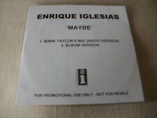 ENRIQUE IGLESIAS - MAYBE - 2 TRACK PROMO CD SINGLE